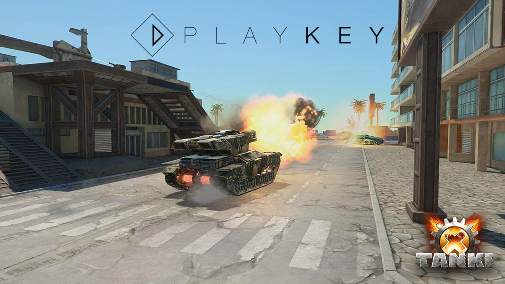 Tanki X Now Available On Playkey