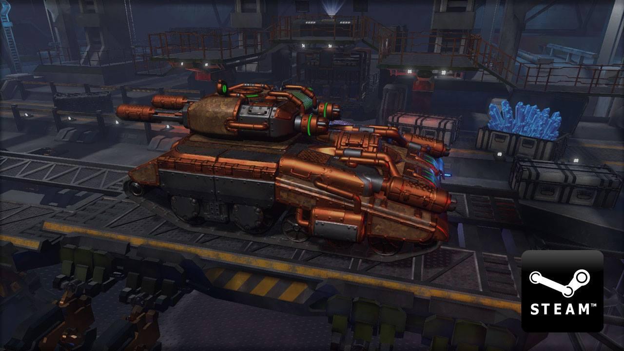 Tanki X Is Now On Steam