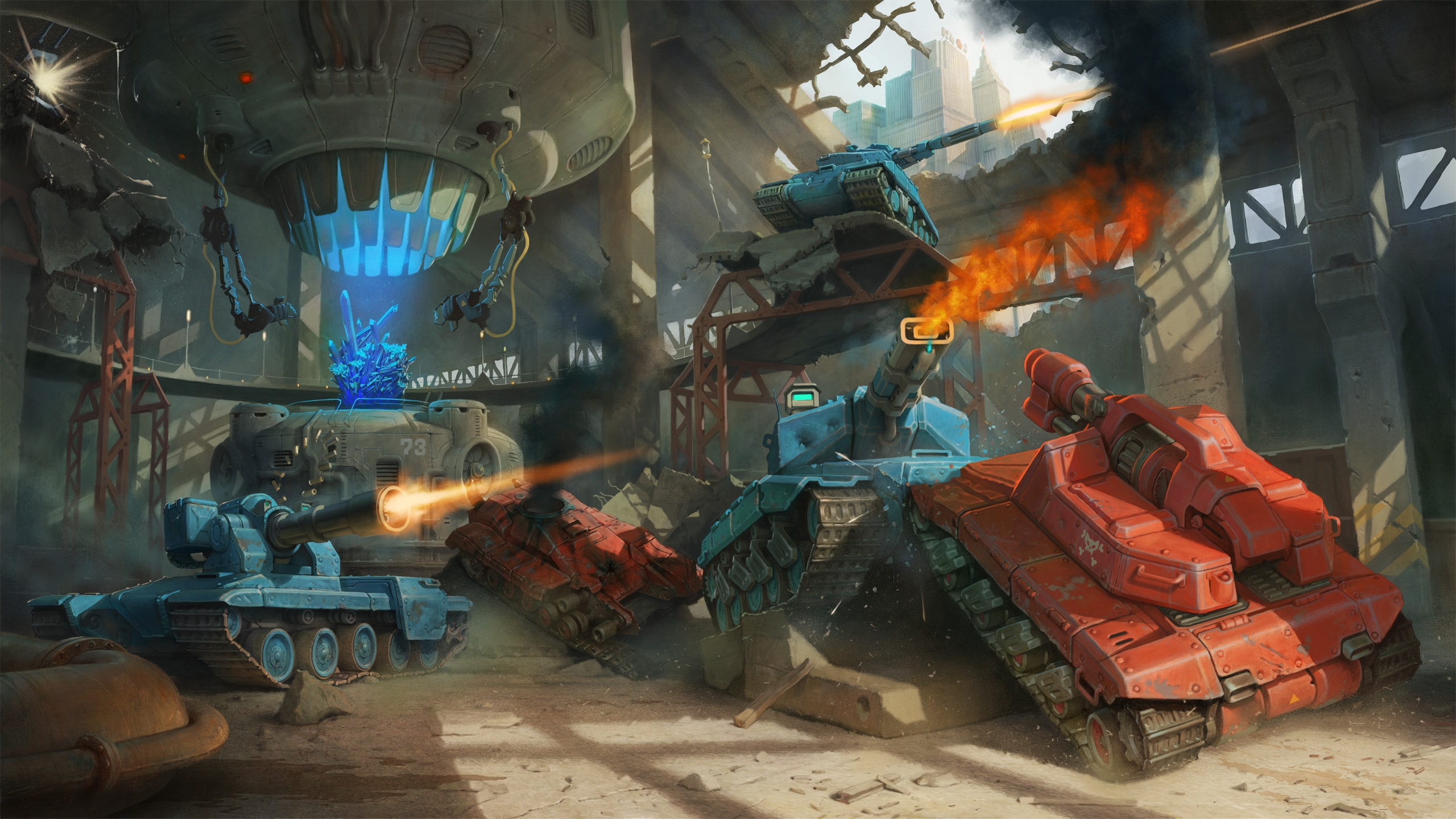 Tanki X - free-to-play online game
